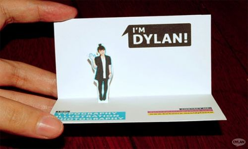 20 Inspiring, Unusual Business Card Designs - DesignFestival diy - name card