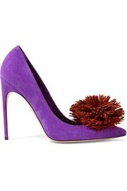 Brian AtwoodAlis embellished suede pumps