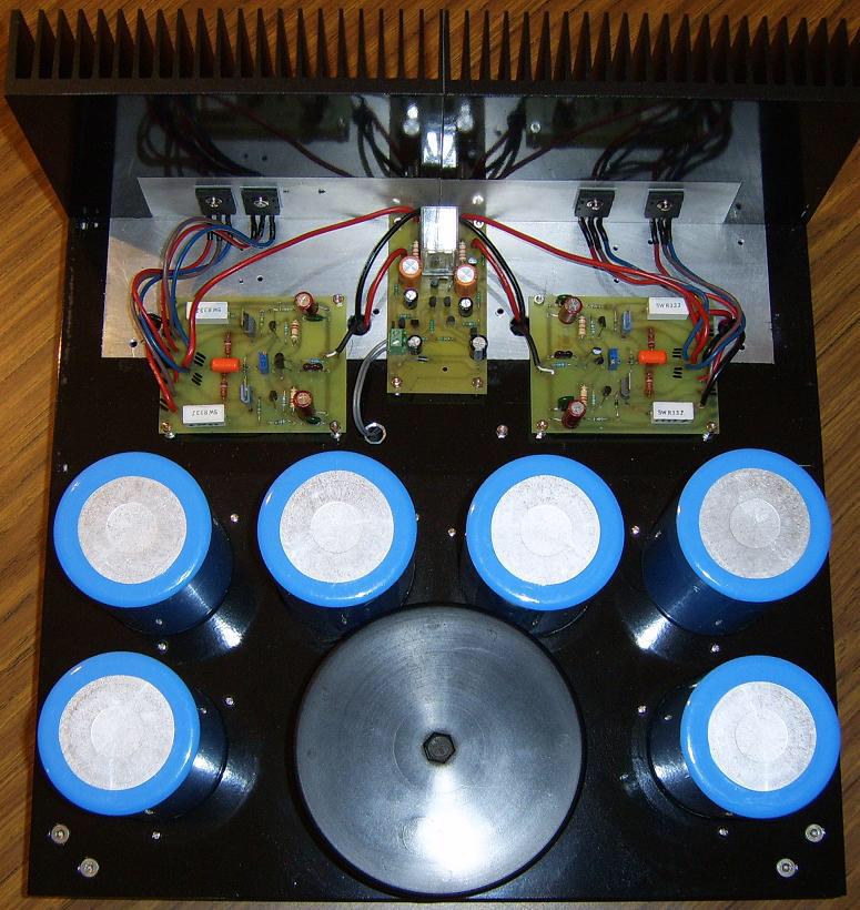 Super Class A Amplifier Heatsink And Pcb Diy Amplifier Amplifier Hifi Amplifier