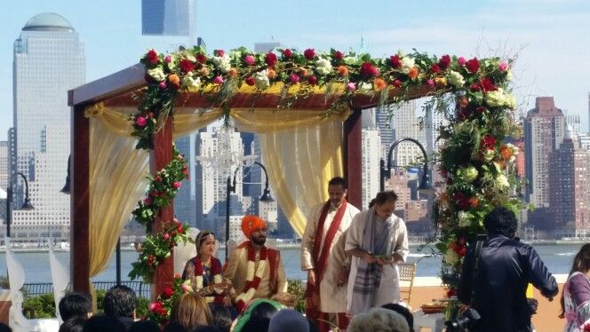 Beautiful Floral Mandap