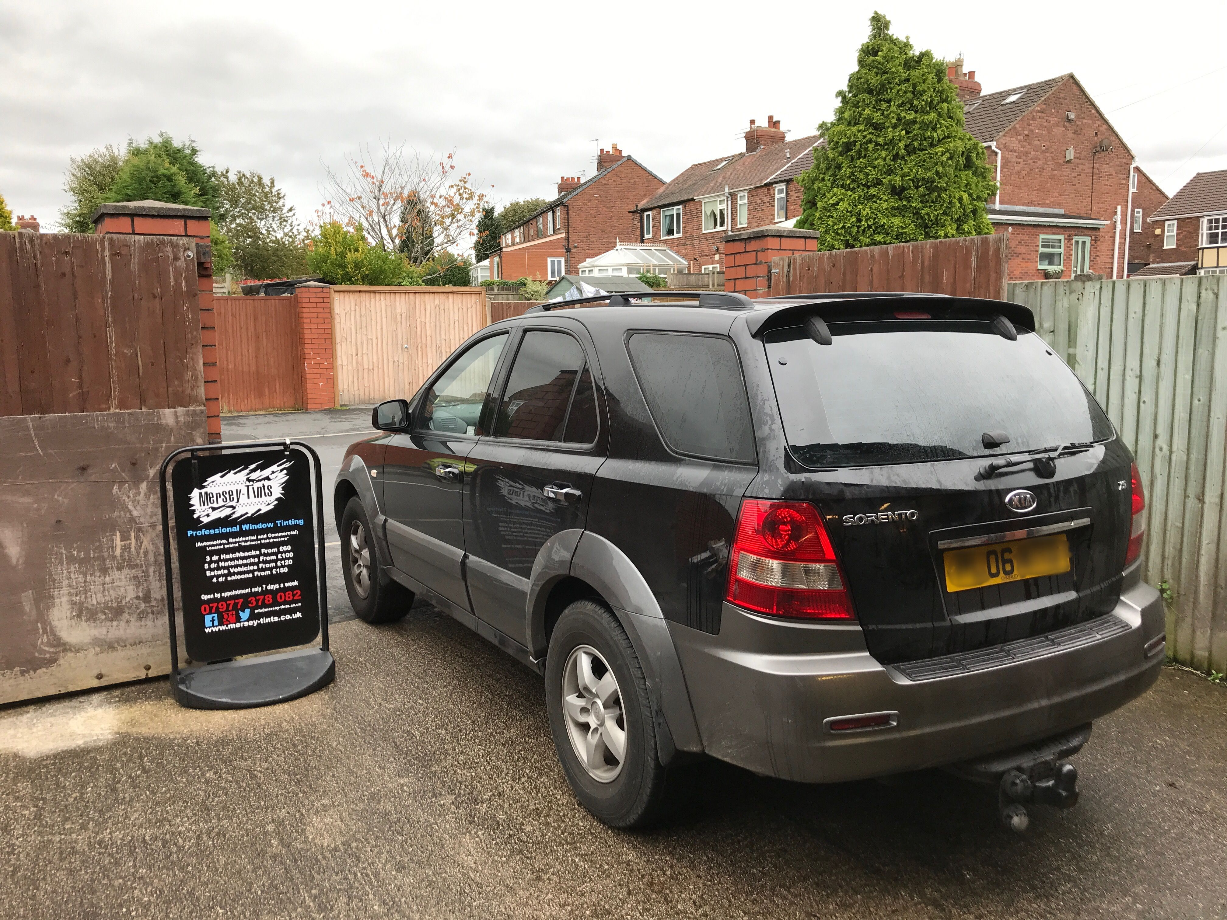 2006 Kia Sorento In This Morning For 5 Carbon Limo Tints To The