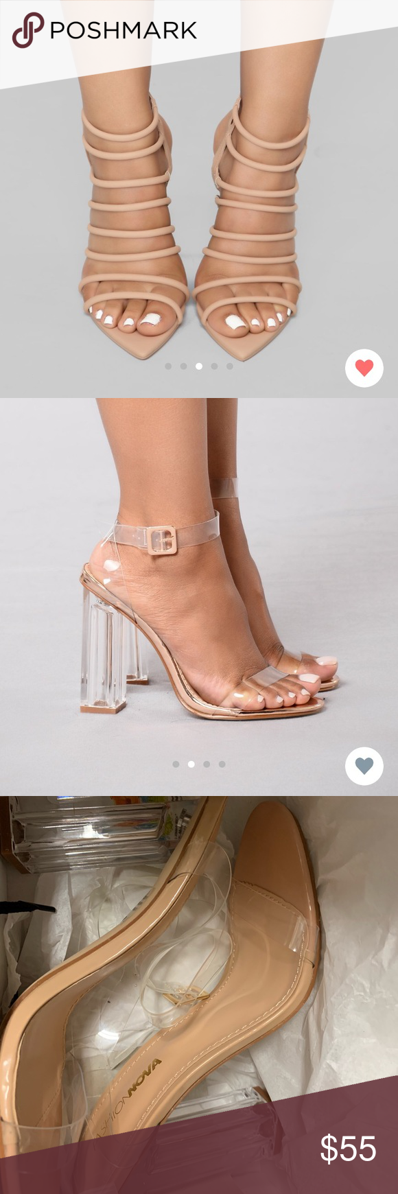 Cute heels, Fashion nova shoes