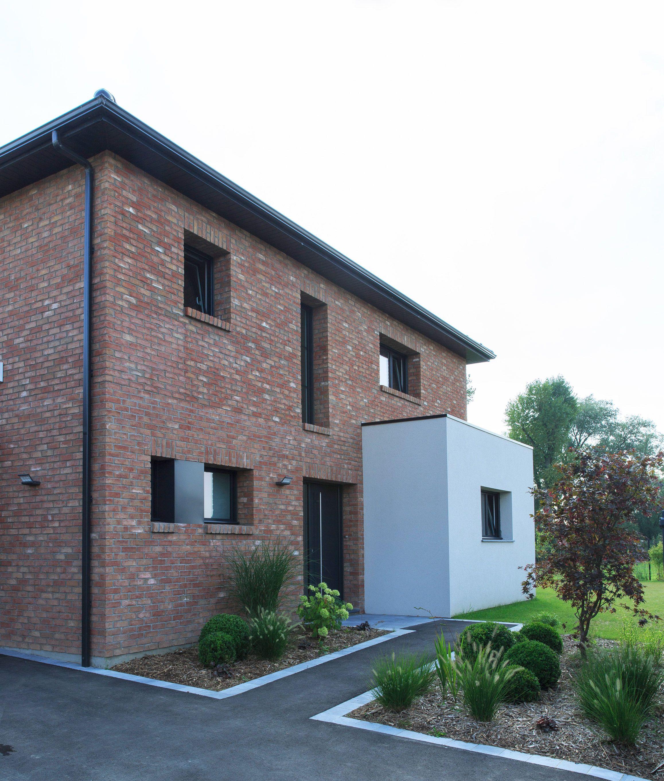 Maison Cubique Moderne Par Maisons D En France Nord Pas De Calais