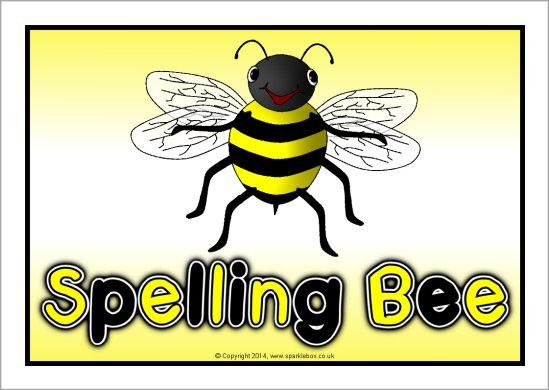 Spelling Bee display poster (SB10424) - SparkleBox SLP Printable - fresh experience certificate format bee
