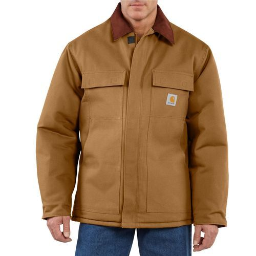 8938ec70e4b Carhartt Men s Duck Traditional Arctic Quilt Lined Coat