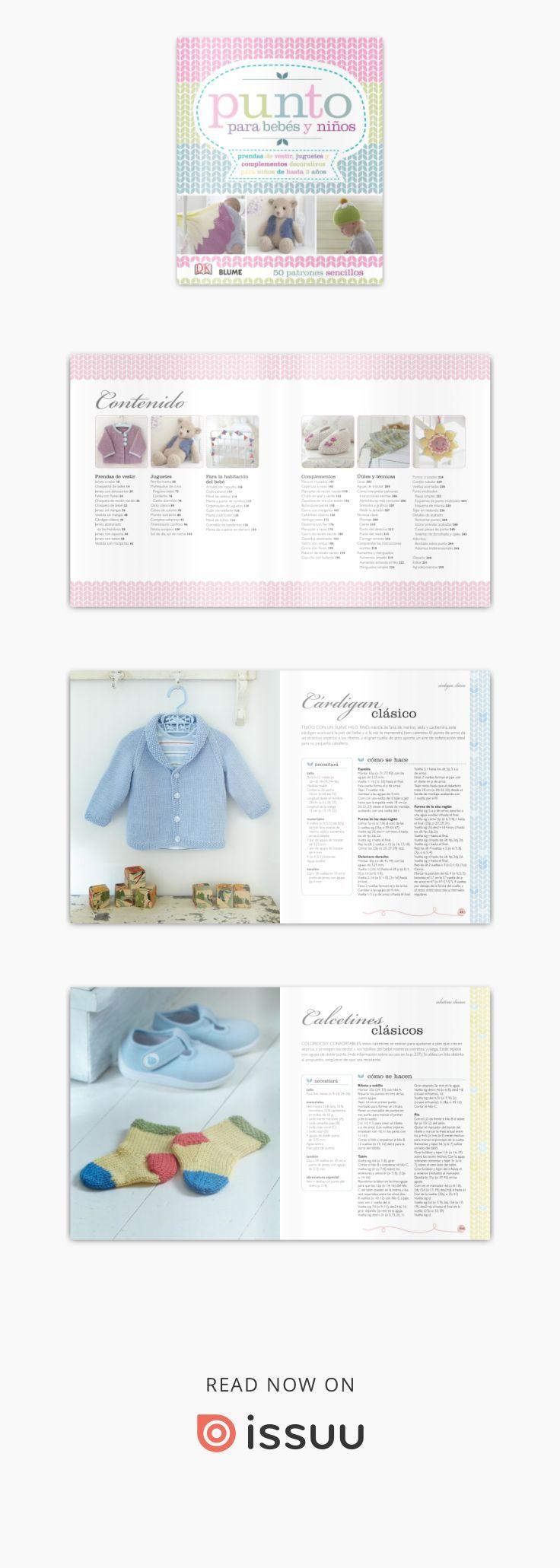 Punto para bebés y niños | bebes | Pinterest | Sencillo, Revista ...