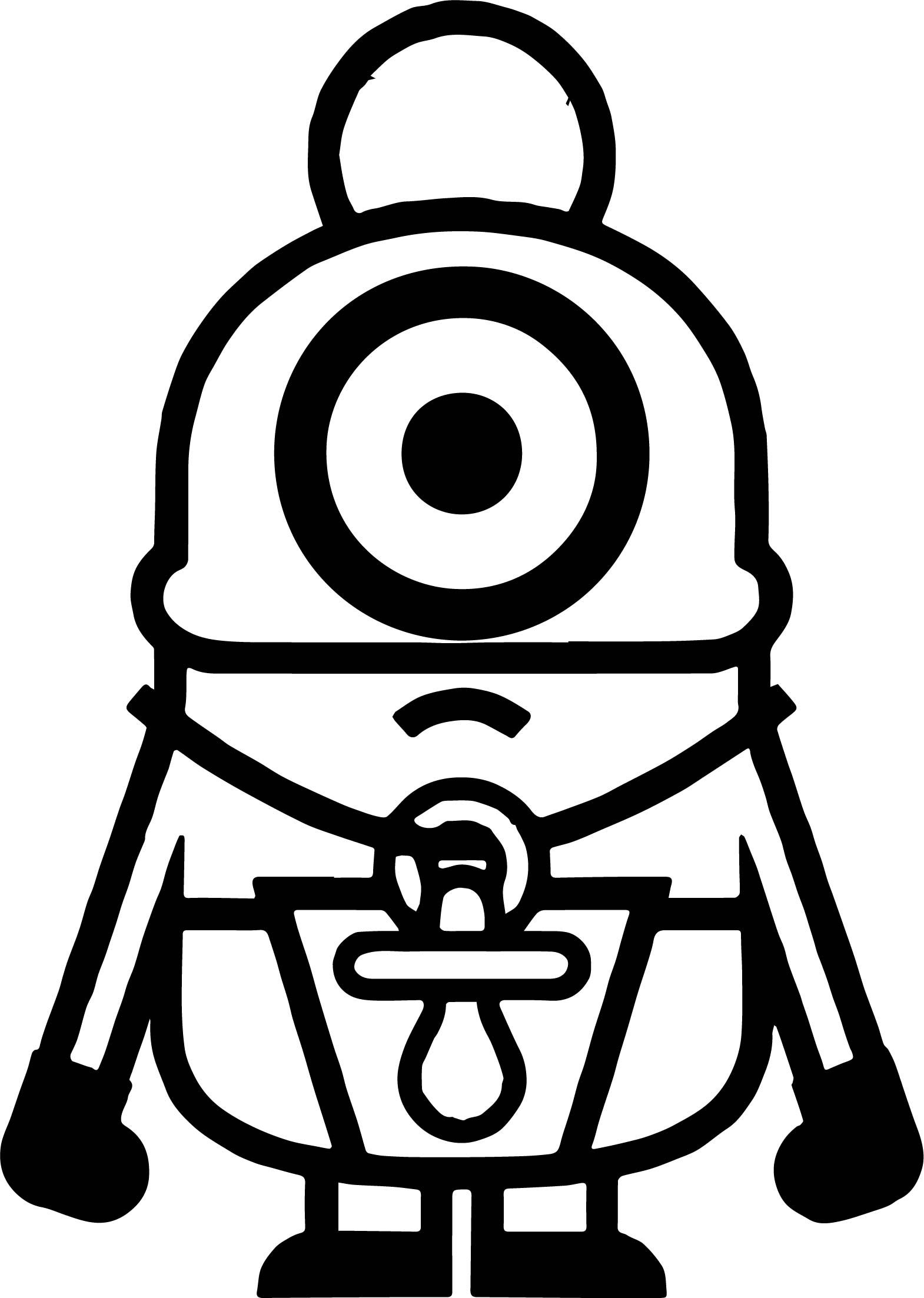 Minions Baby Coloring Page Wecoloringpage Baby Coloring Pages Minion Baby Minions