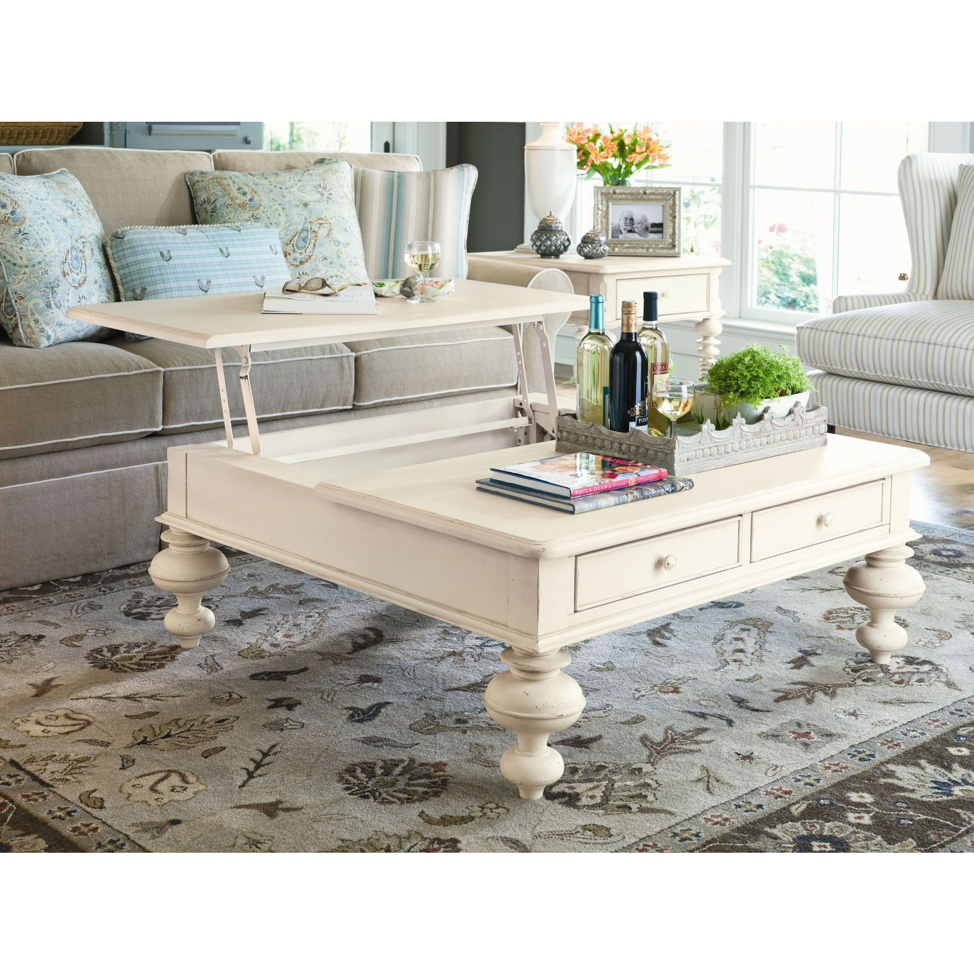Attrayant Paula Deen Home Put Your Feet Up Lift   Top Cocktail Table