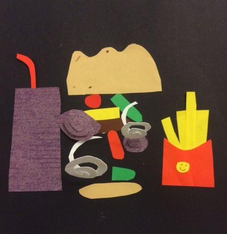 Barnens favoritmat i pappersform...