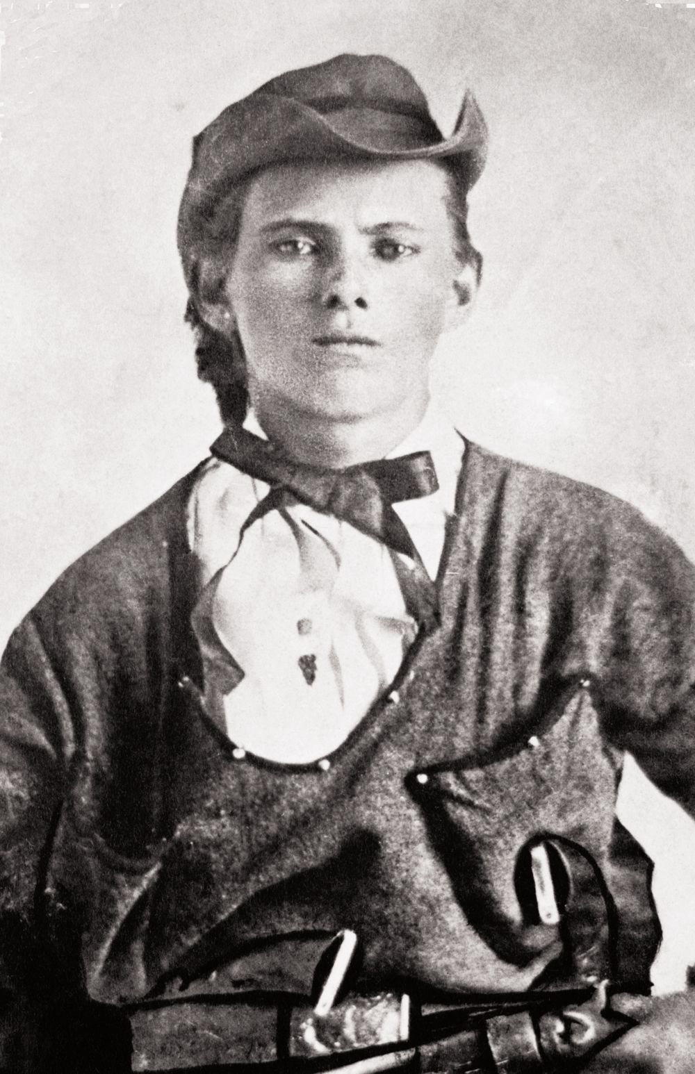 Jesse James around age 16, during his time as a ...
