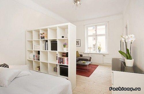Дизайн комнаты 17 кв.м. в однокомнатной квартире