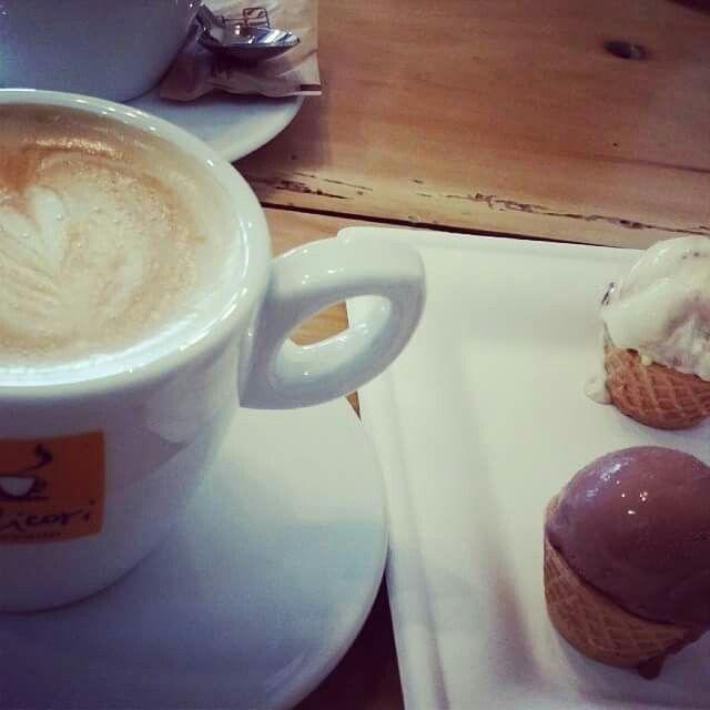 Cappuccino Gelato At Vitaly Caffe Costa Mesa Ca Caffe Gelato Cappuccino
