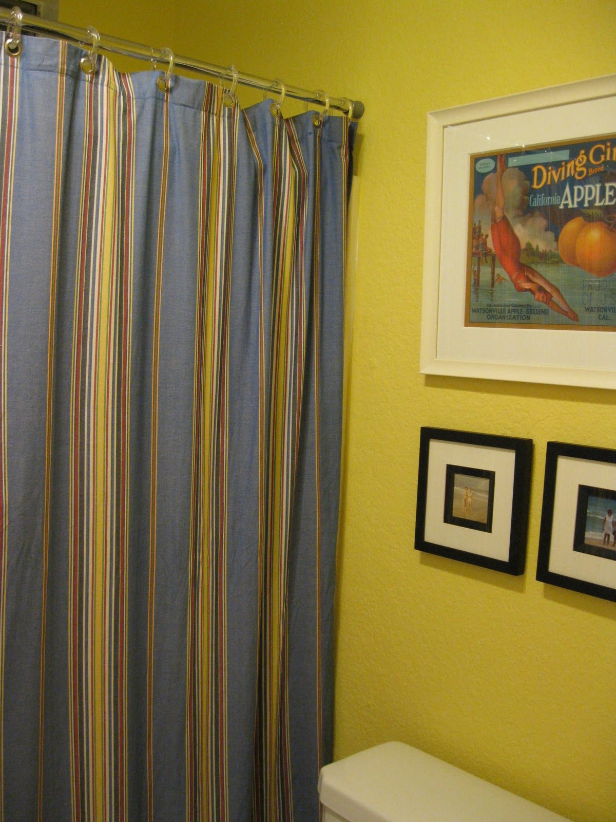 cotton ring blue made curtains pair wide x yellow orange dp multi drop top homescapes stripes ready striped curtain eyelet and