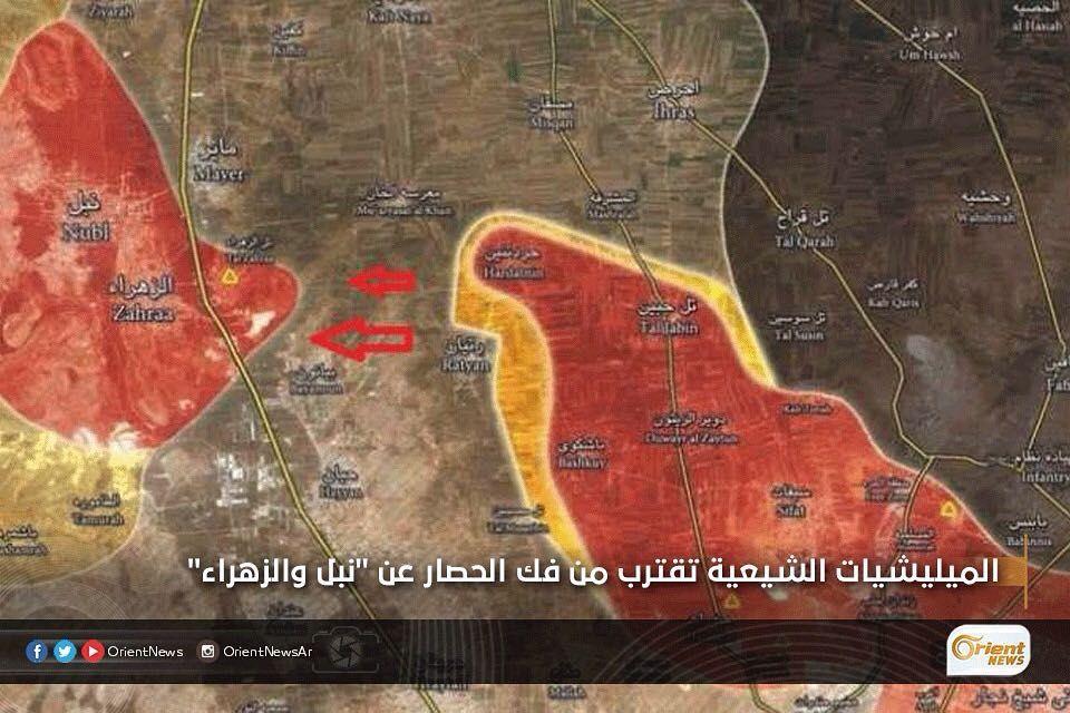 Orient أورينت On Instagram سيطرت قوات الأسد والميليشيات الشيعية على مناطق جديدة في ريف حلب الشمالي وذلك بغطاء جوي من طائر Orient Instagram Posts Instagram