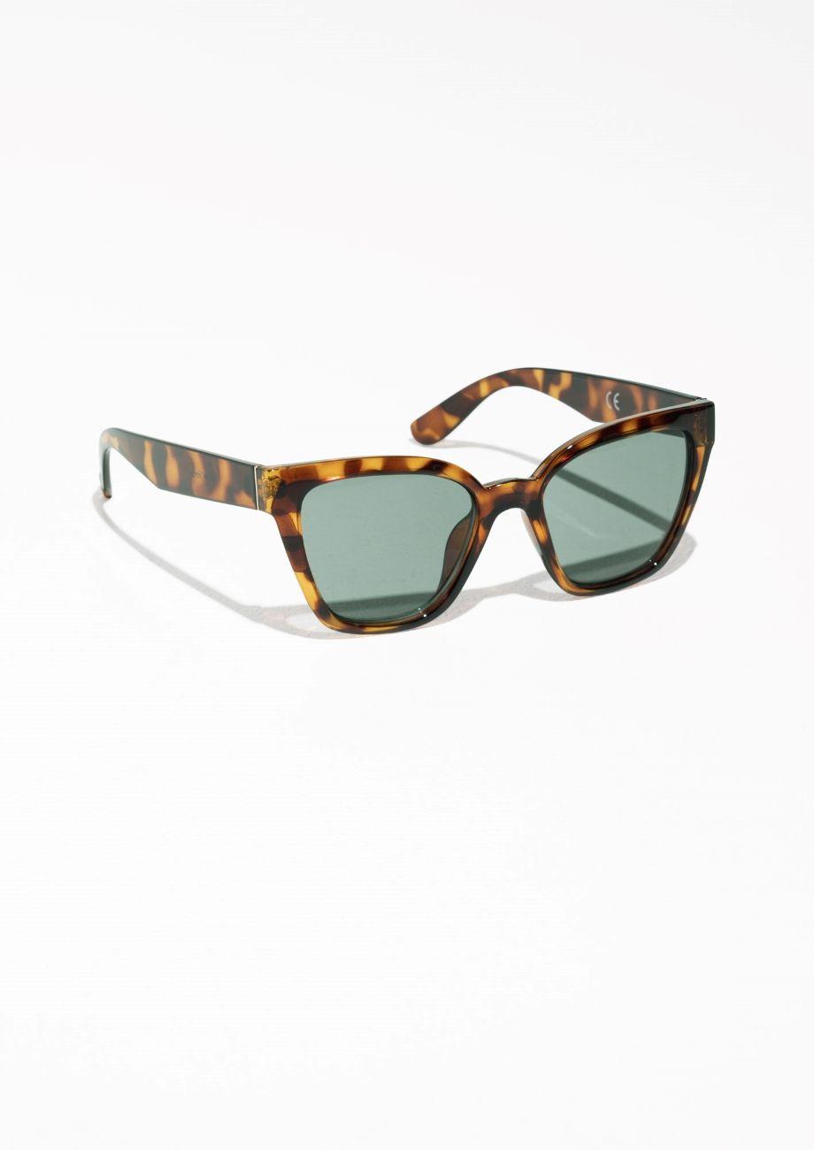 2a05340c9729e   Other Stories Cat Eye Sunglasses in Tortoise   Wants   Pinterest