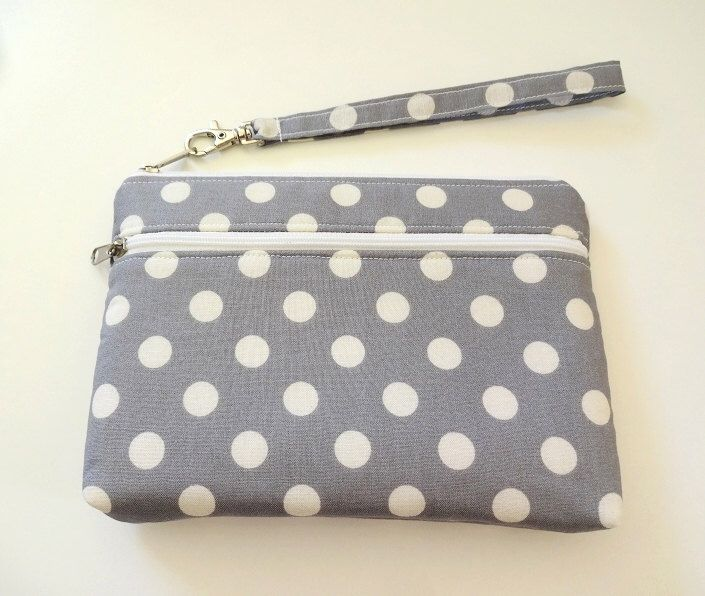 iPhone 6, iPhone 6 Plus, Galaxy Note Wristlet Clutch, Pouch, Double Zipper Wallet, Bridesmaid Gift – Dot, Chevron, 25 Different Selections by CollectionLand on Etsy https://www.etsy.com/listing/226254354/iphone-6-iphone-6-plus-galaxy-note