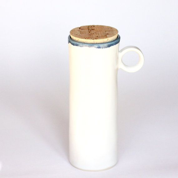 Tall Ceramic Travel Mug With Lid To Go Cup