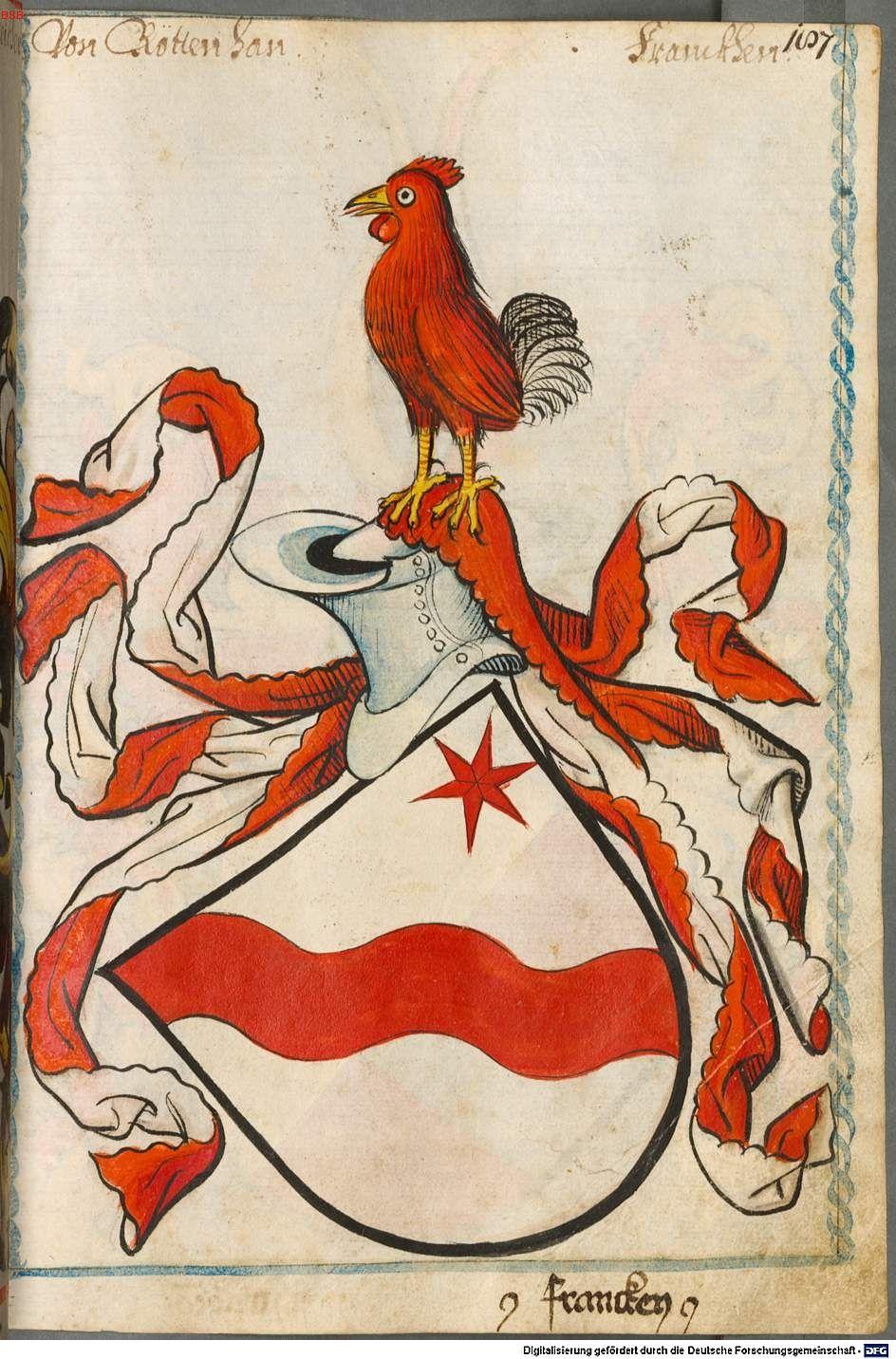 Scheibler'sches Wappenbuch Süddeutschland, um 1450 - 17. Jh. Cod.icon. 312 c  Folio 187