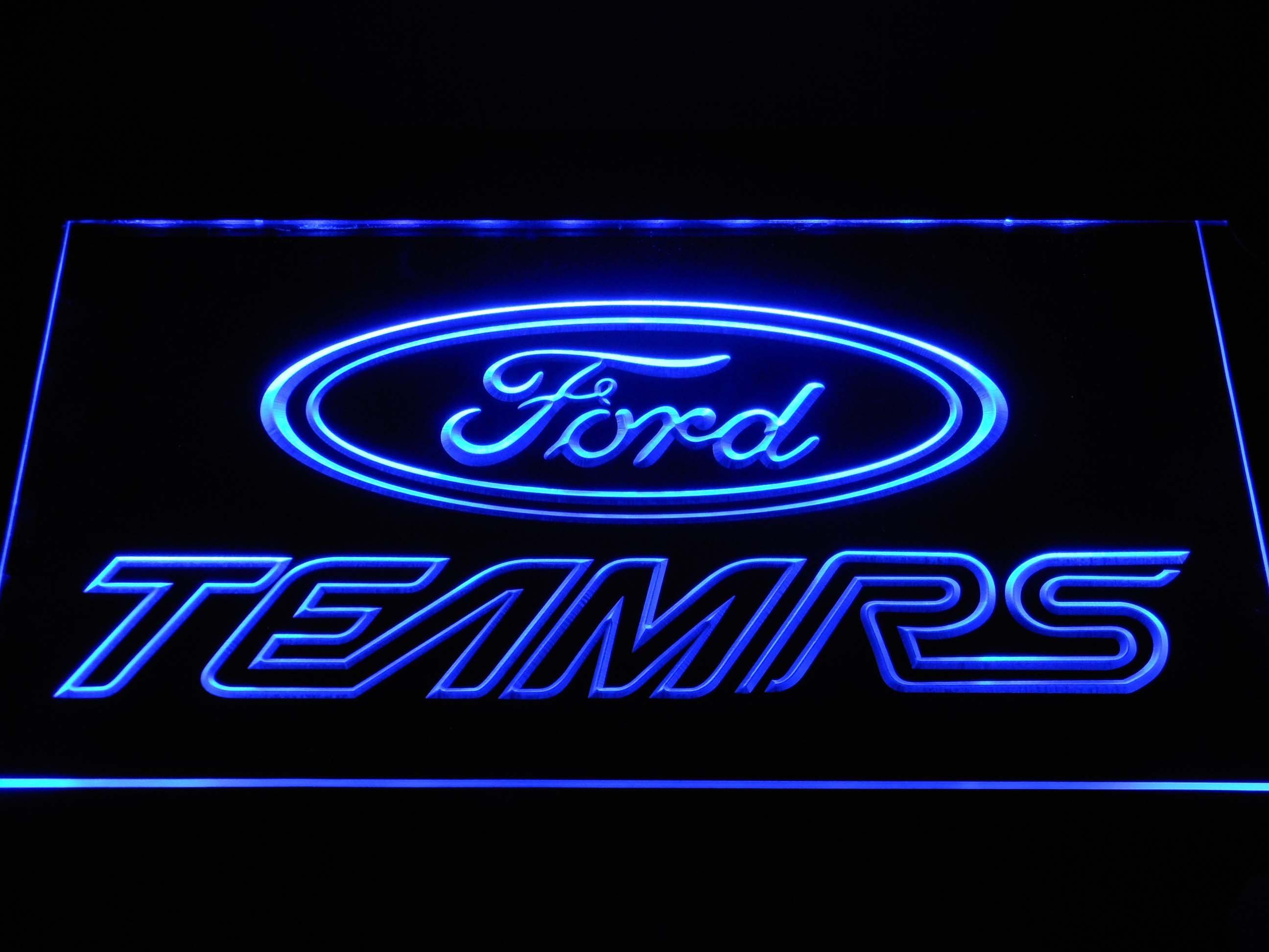 Ford Team Rs Led Neon Sign Neon Signs Led Neon Signs Neon
