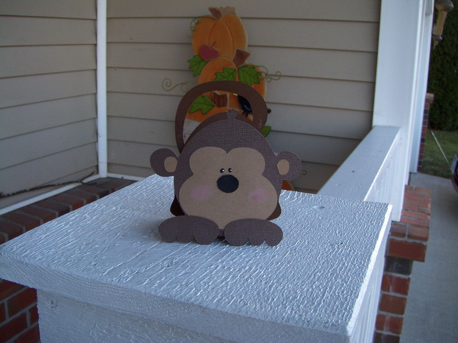 Monkey Favor Box Set of 12 by zbrown5 on Etsy, $14.40