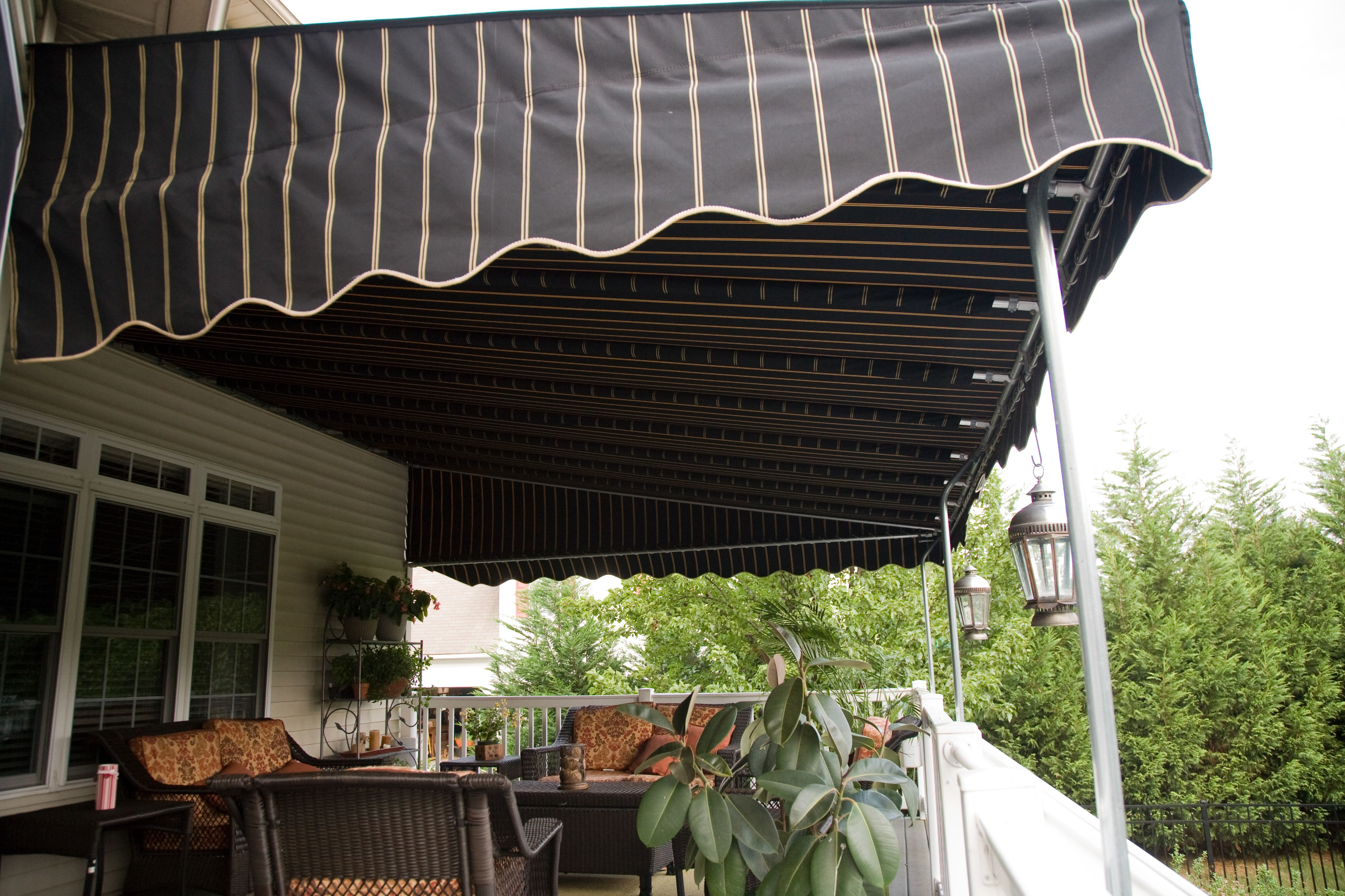Stationary Canopy Canopy Entrance Awnings Deck Awnings