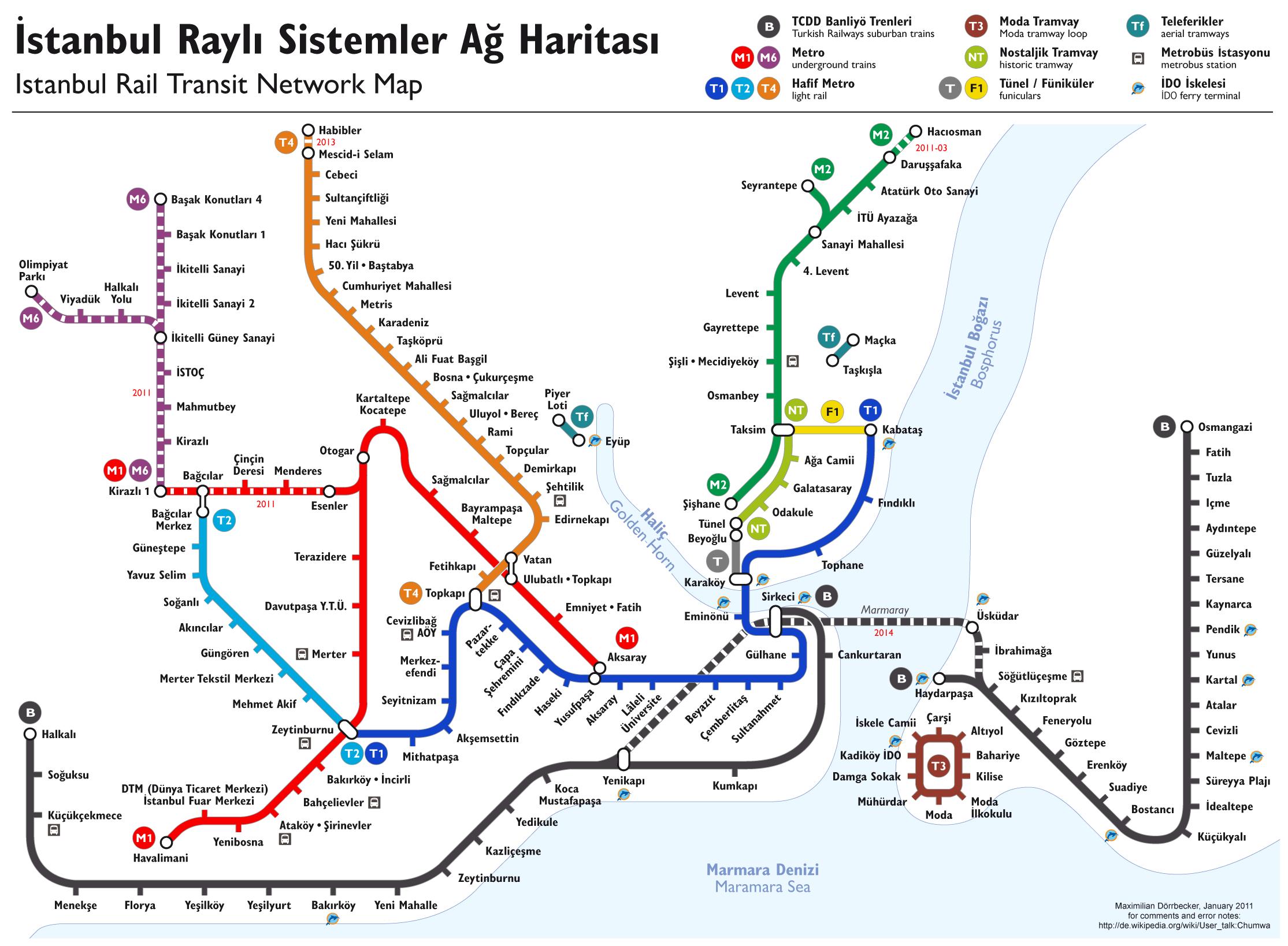tube #subway #metro #transport #Istanbul Rail Transit #map ...