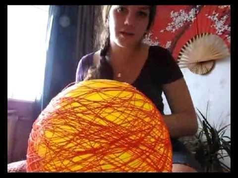 Как сделать красивый абажур своими руками? Вытворяшки - YouTube