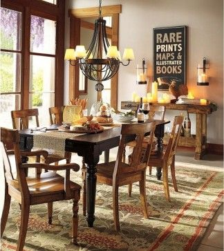 Designer Dining Rooms W Wood Trim