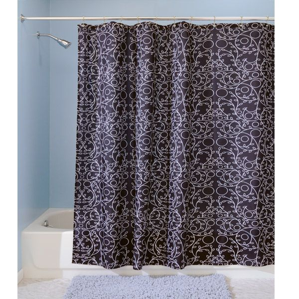 Do You Love Intricate Patterns And Need A Pretty Shower Curtain The Twigz Black