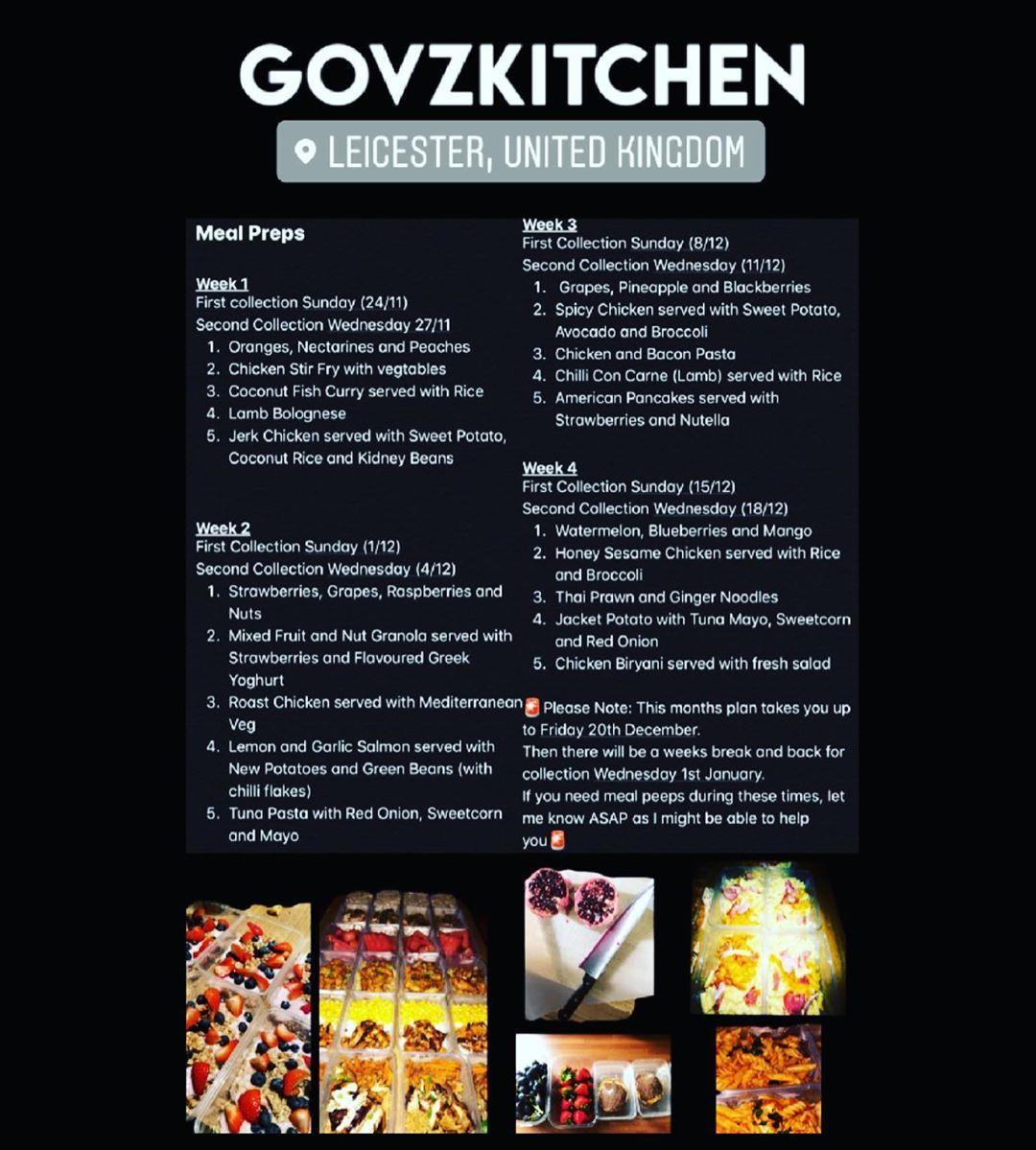 food Instagram related hashtags Meal prep menu, Food