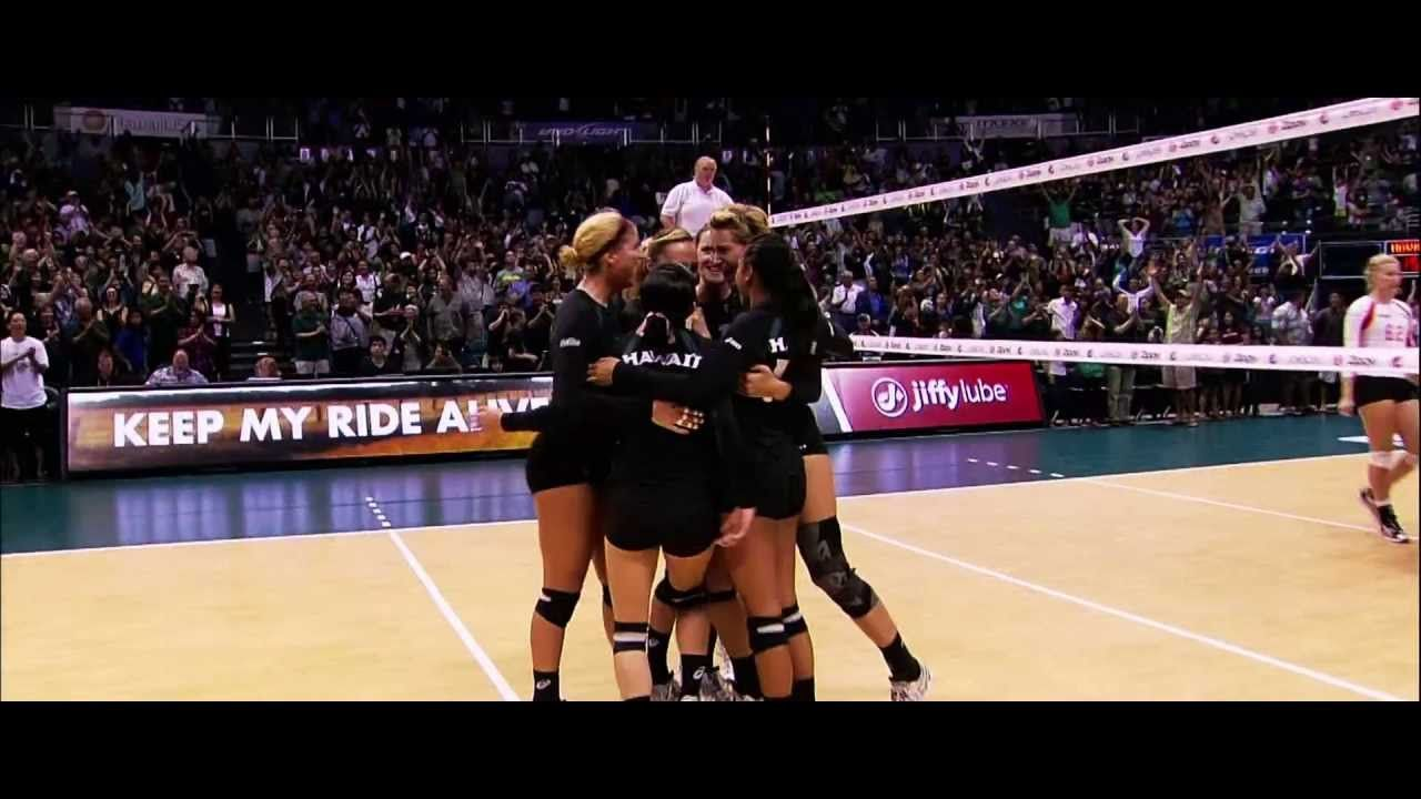 The Heart To Win 2013 University Of Hawaii Rainbow Wahine Volleyball University Of Hawaii Volleyball University