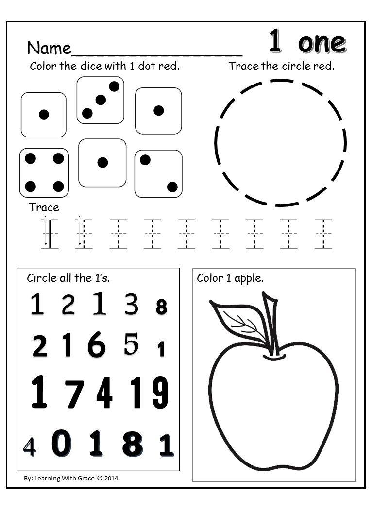 Worksheets Learning Numbers Worksheets super practice tracing numbers 5 9 worksheets and and