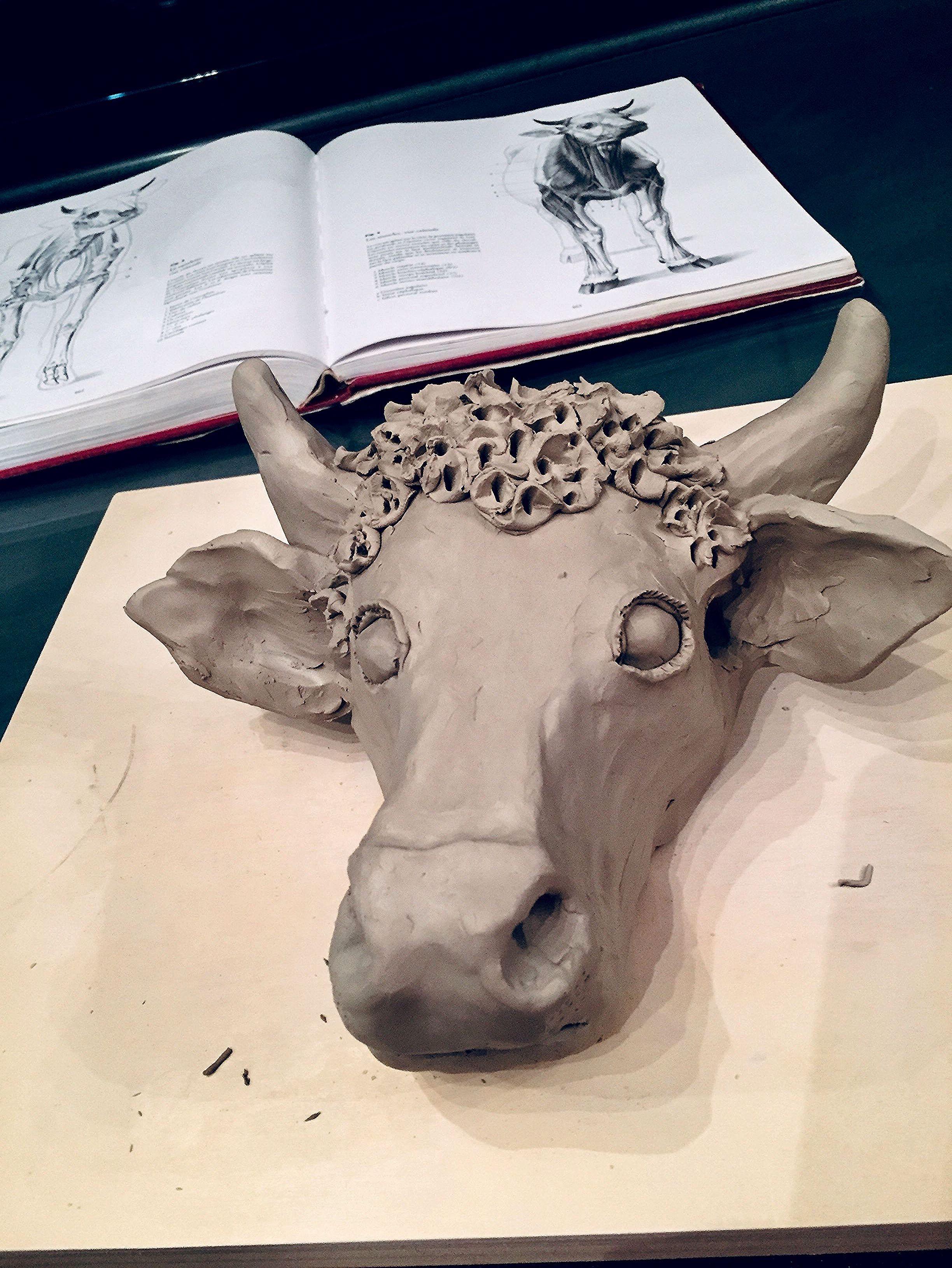 Miss Marguerite # VVepreuve 2019 in 2020   Pottery animals