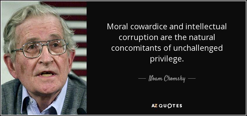 examples of moral cowardice