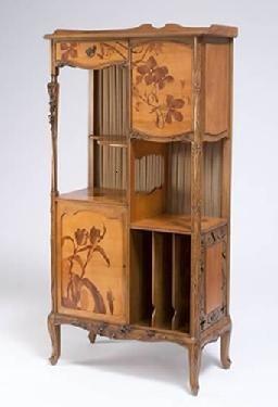 Louis Majorelle Cabinet Ecole De Nancy Art Nouveau Furniture Art Nouveau Decor Pretty Furniture