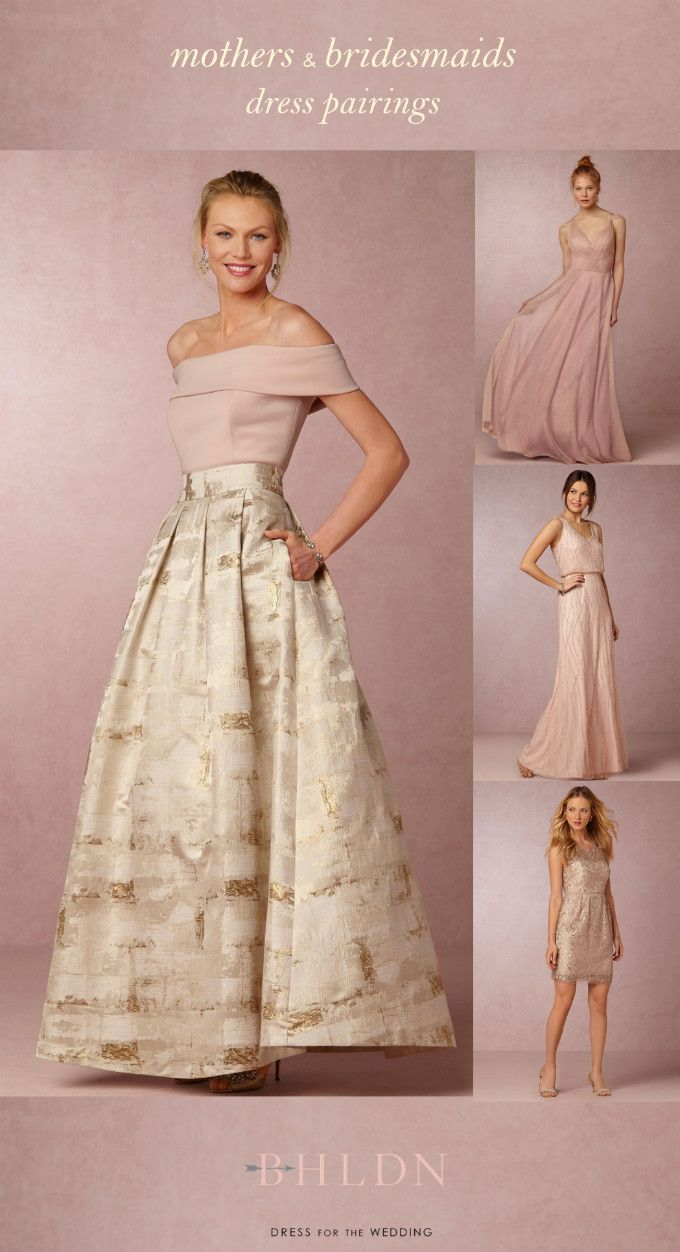 Mother of the groom dresses for summer pink