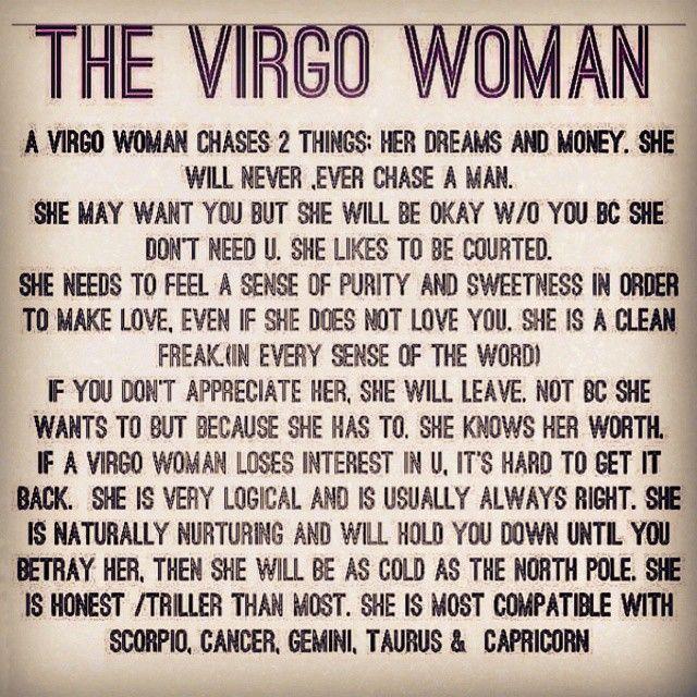 Virgo Traits Male