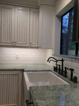 Vintage Colors Kitchen Remodel by Kitchen & Bath Works - www ...