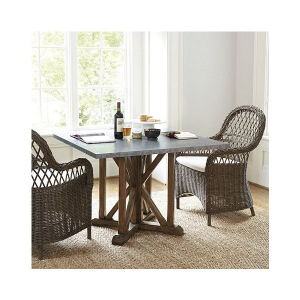 Amelia dining table ballard designs 699 ❤ liked on polyvore featuring home