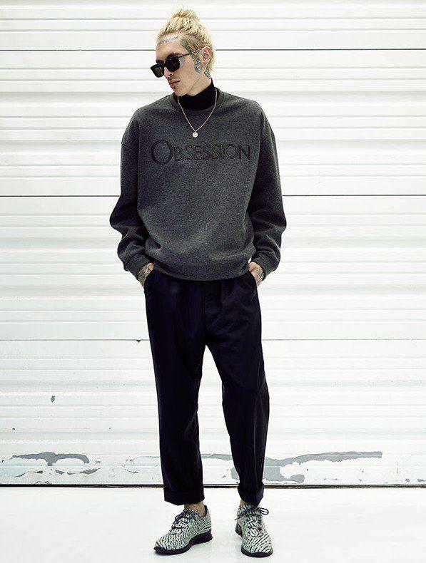 Calvin Forward Sweatshirt Klein Soileau Bradley Models Obsession For qSwZn6x