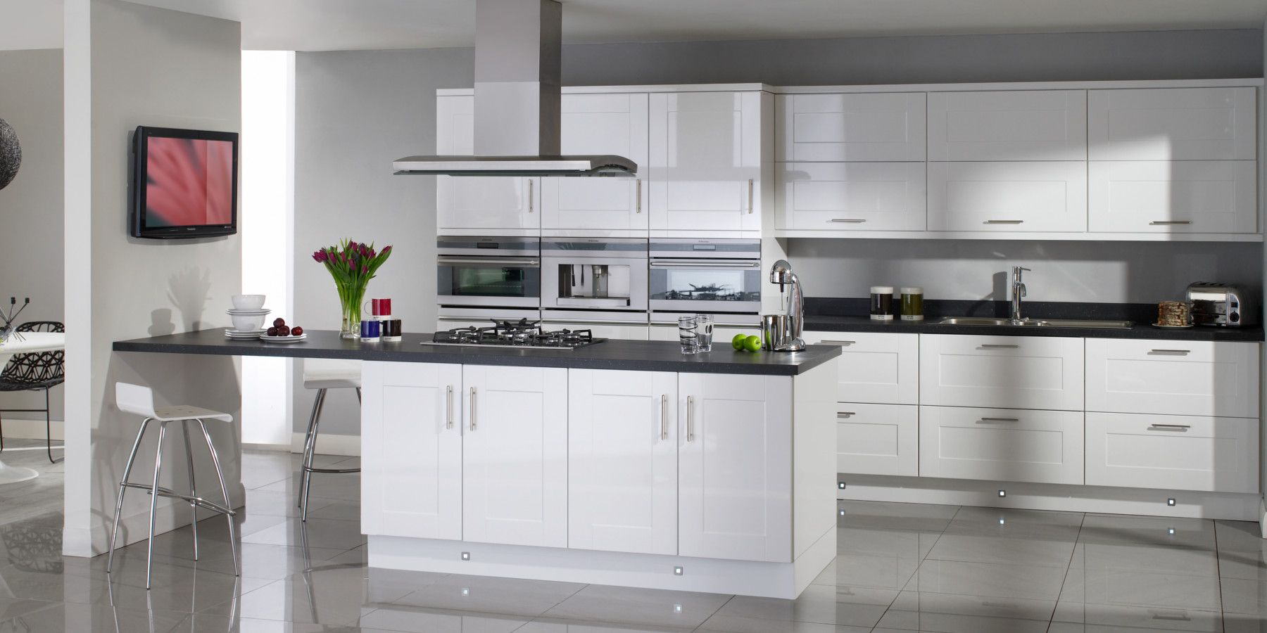 Salerno (Symphony Kitchens) House design kitchen