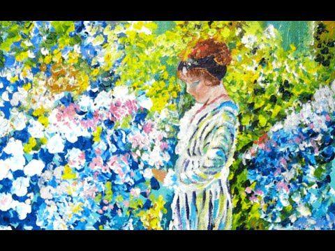 Acrylic Impressionist Painting Tutorial