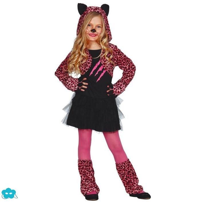 Disfraz de leopardo glamuroso para niña | Halloween | Pinterest