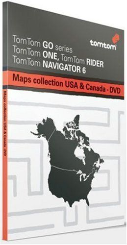 Tomtom Maps Of USA  Canada Multiplatform DVD Use with any Tomtom