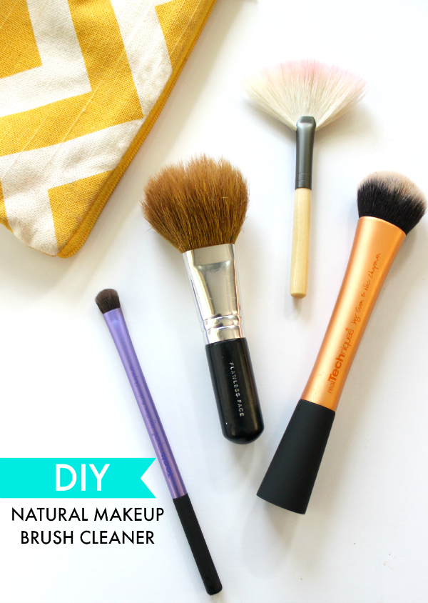DIY Natural Makeup Brush Cleaner Diy makeup brush