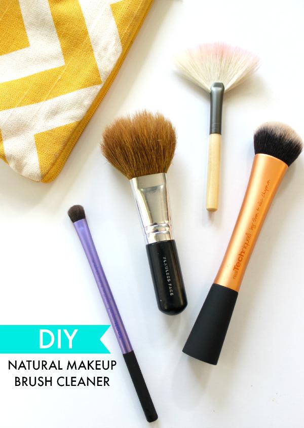 DIY Natural Makeup Brush Cleaner Diy makeup brush