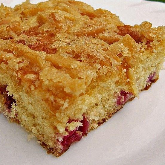 Wandelbarer Blechkuchen mit Butter - Mandelkruste von mirabelle83 | Chefkoch