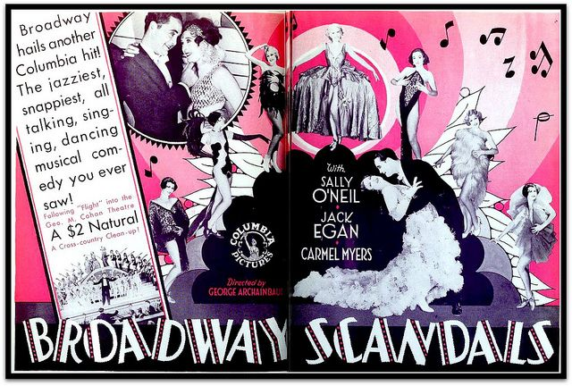 Image result for broadway scandals 1929