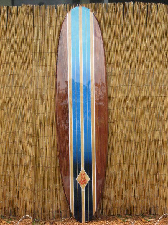 Decorative Surfboard Wall Art Hawaiian Art Hawaiian Decor