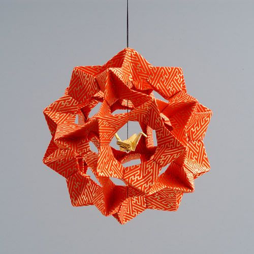 Picture Of Diy Origami Ornaments: Museum Of Natural History Origami Holiday Trees